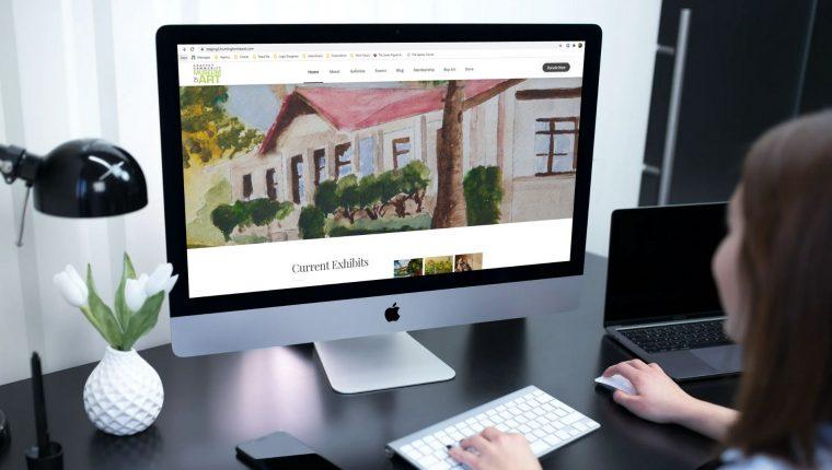 Chaffey Community Museum of Art Web Design by Huntington Hearst
